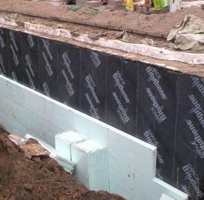 Izolacja ścian pionowych