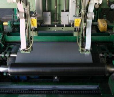 Pierwszy etap produkcji papy